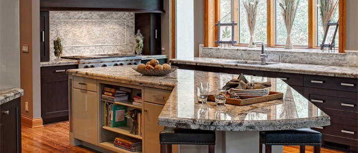 Grabill wins transitional category with their custom kitchen cabinets
