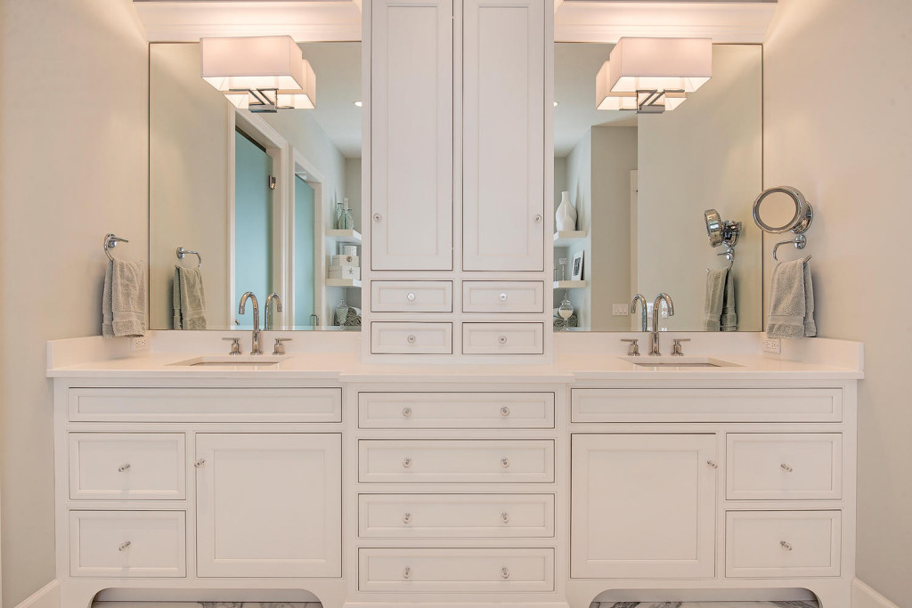 Grabill cabinets flair for the contemporary relies on for Bathroom cabinets naples fl