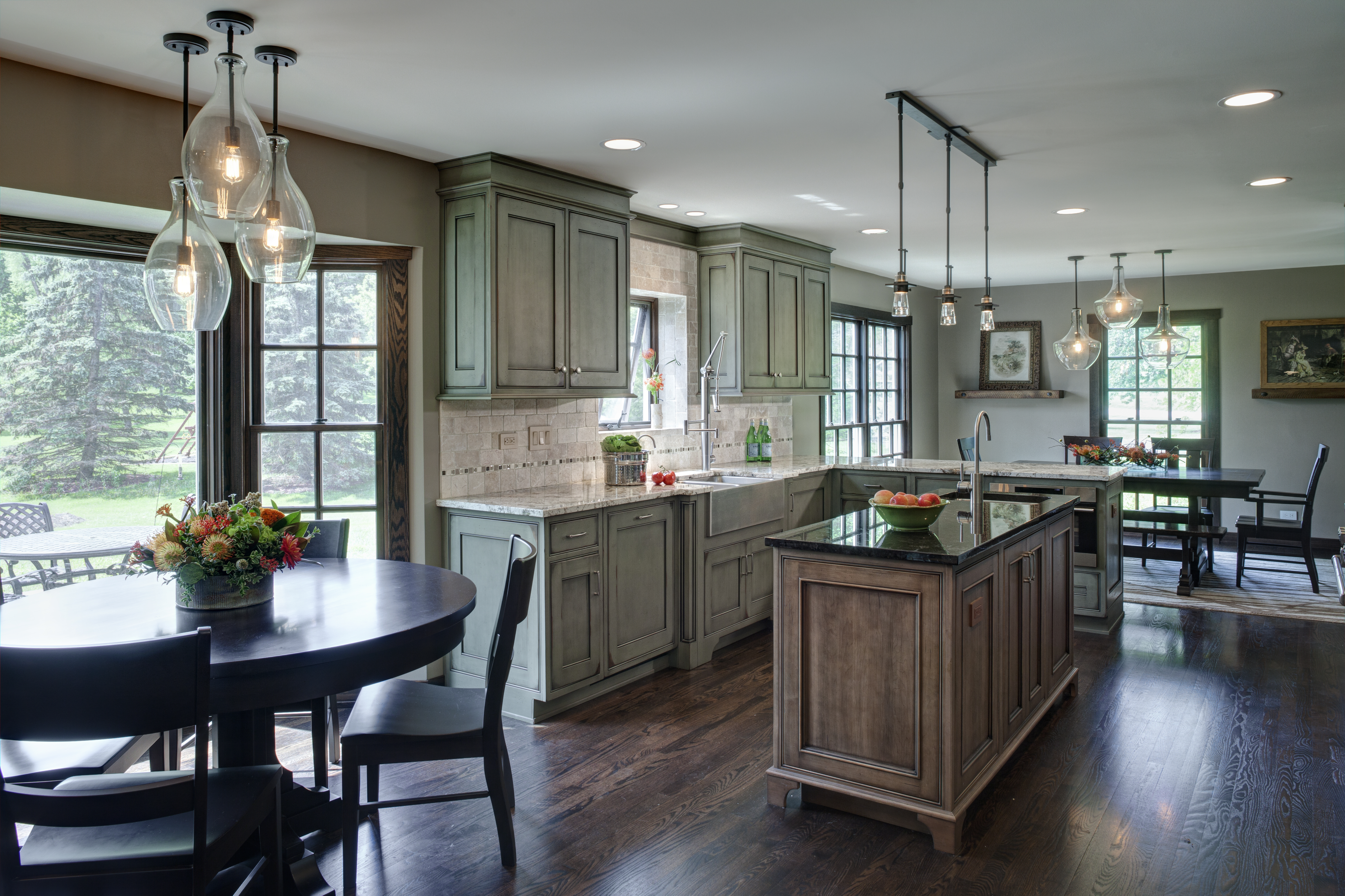 Grabill Cabinets Grabill Helps Kitchen Renovation To A Fabulous Finish