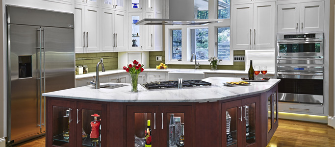 Custom kitchen cabinets from Grabill