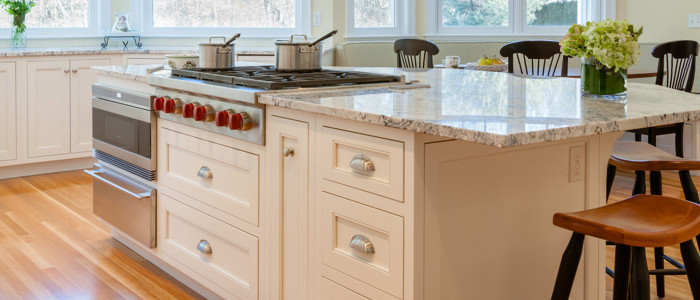 Trust Grabill to execute the most intricate details for your kitchen cabinets
