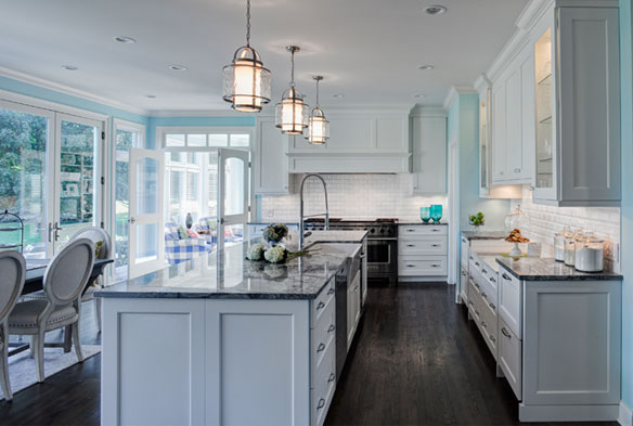 Grabill cabinets kitchen for a chef results in award for Award winning kitchen designs