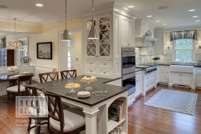 Hinsdale  Illinois traditional kitchen remodel with Drury Design Older Home s Kitchen Upgraded in Function and Space All