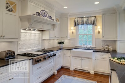 Traditional kitchen remodeling ideas from Grabill Cabinets and Drury Design.