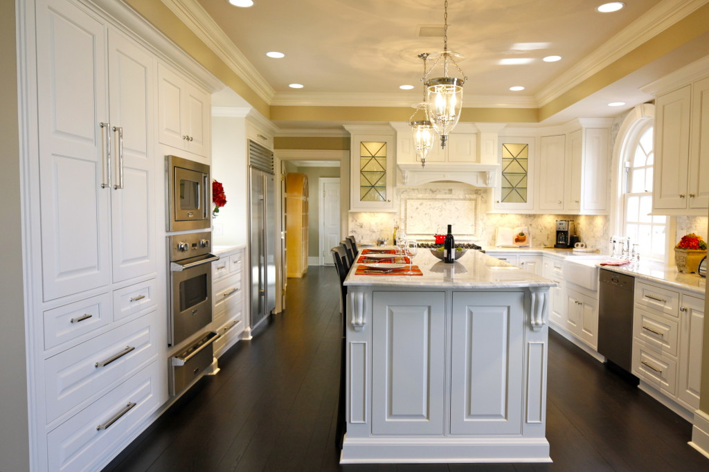 Homes Style Returns To The Kitchen With A Custom Flourish