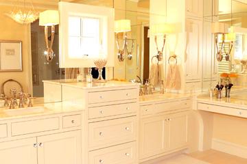 TruKitchens Elaborate Master Bath - Grabill Cabinets