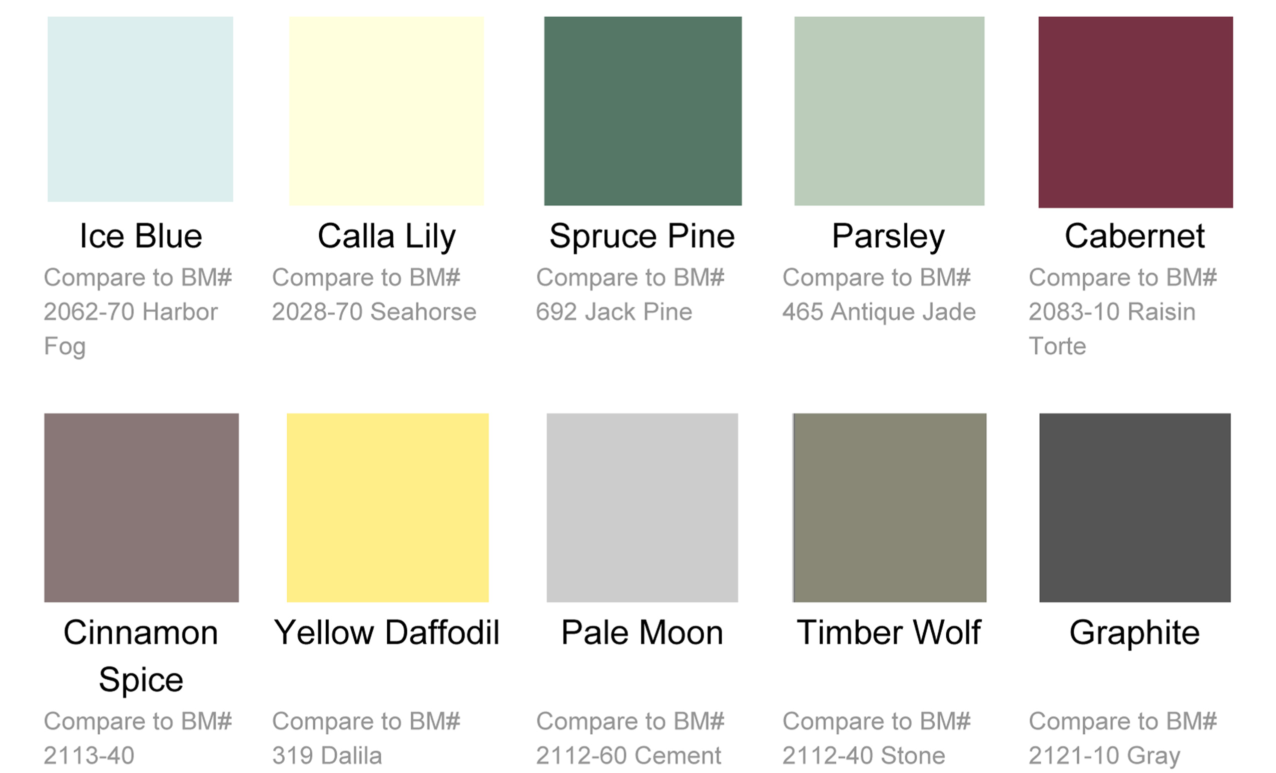 Grabill Color Trends Released in April 2015