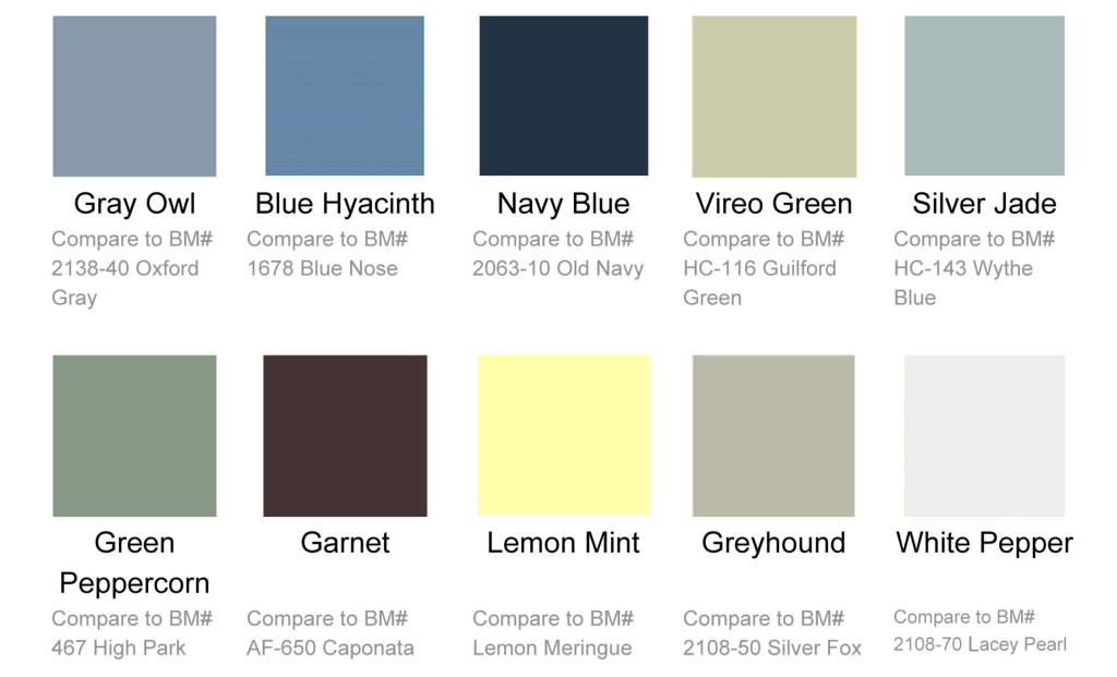 Grabill Color Trends Released in March